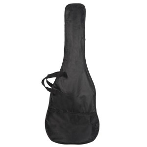 Glarry Burning Fire Electric Bass Guitar Full Size 4 String Bag Strap Paddle Cable Wrench Tool Burlywood