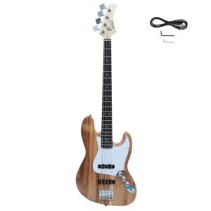 Glarry Electric GJazz Bass Guitar Cord Wrench Tool Burlywood
