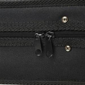 Triangle inside Black Oxford Fabric Case for Violin