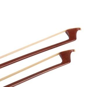 4/4 Rosewood Round Stick Violoncello Cello Bow Brown